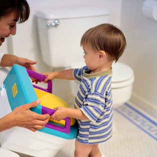 Parent Introduces a Potty Chair