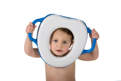 Potty training many accidents